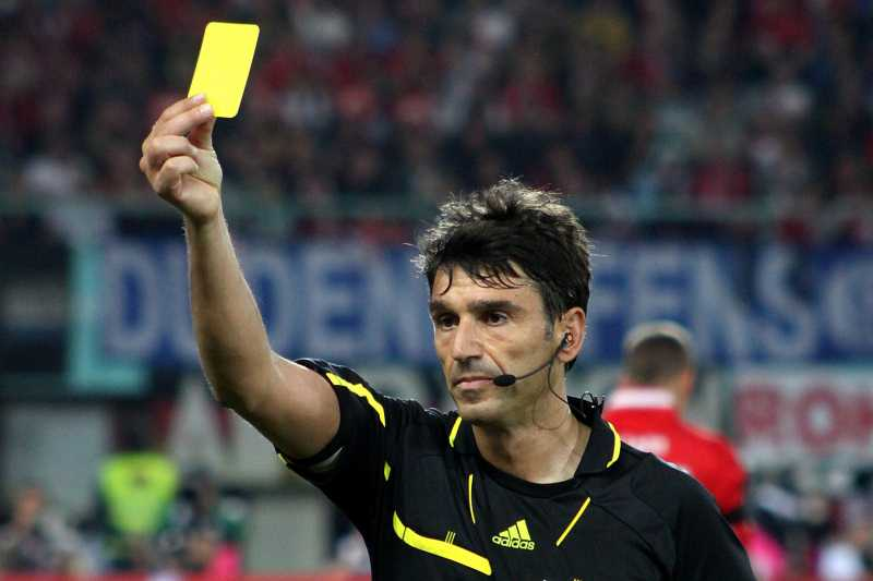 a soccer referee